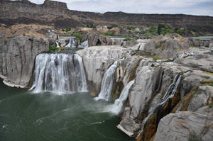 Shoshone Falls by BeachGirlNikita