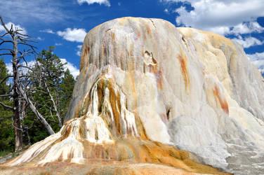 Orange Spring Mound by BeachGirlNikita