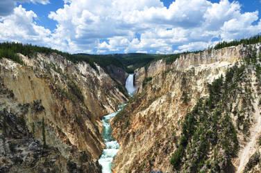 Grand Canyon of Yellowstone by BeachGirlNikita