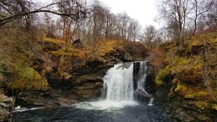 Highland Waterfall by BeachGirlNikita