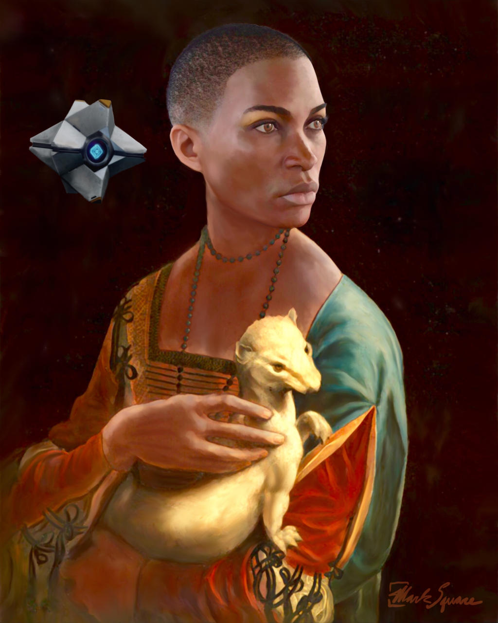 The Ikora with the Ermine by marksquare