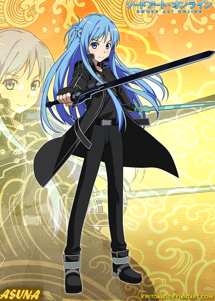 Sword Art Online Kirito And Asuna Daughter Fanfiction Wiring Tool Kit 12 Different Tools Circuit Board Repair Zd151 S Jacket Blue By Twcfree On Deviantart Pom