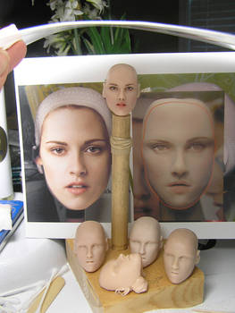 Original Sculpt of Bella Swan, WIP