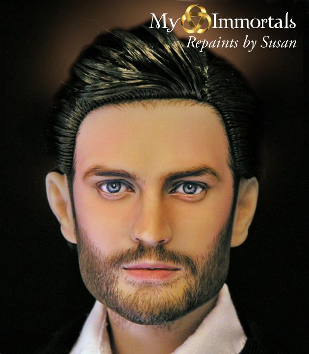 My Immortals Jamie Dornan repaint by my-immortals