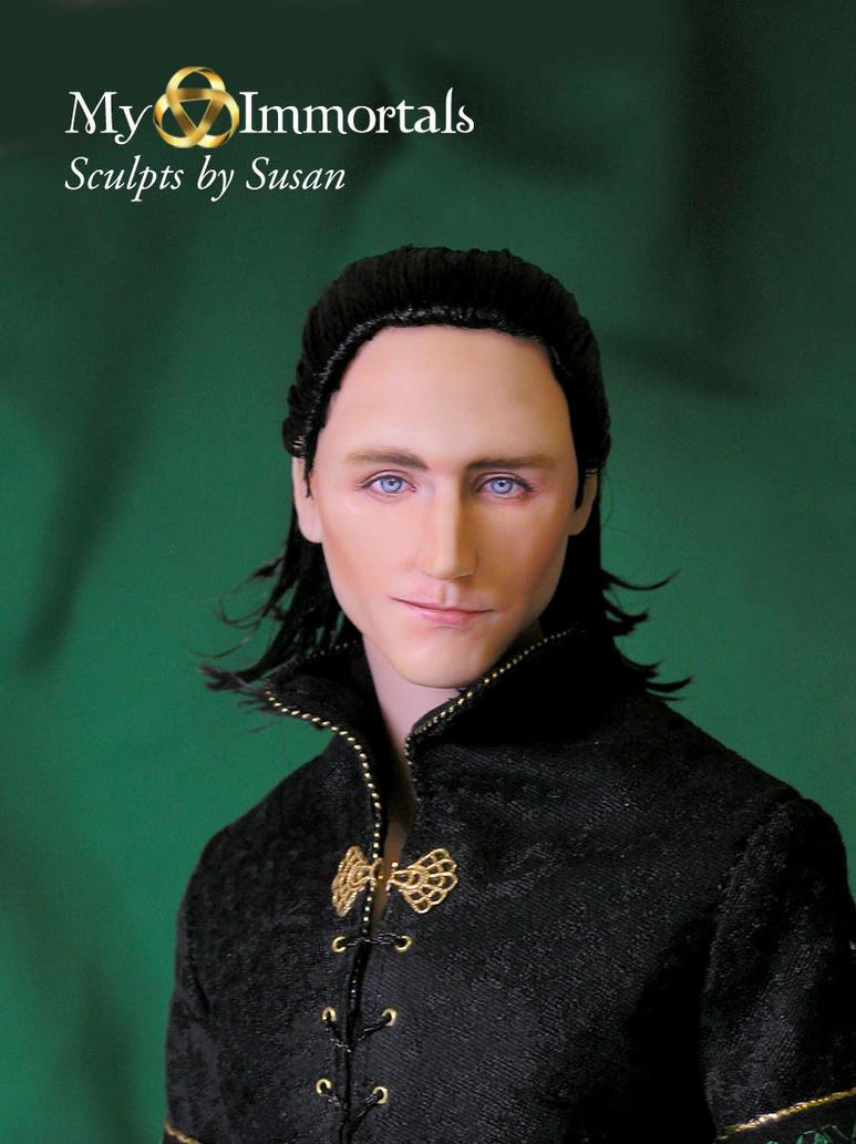 My Immortals original Head Loki Sculpt and costume by my-immortals