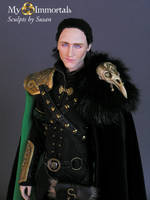 My Immortals Loki Head Sculpt