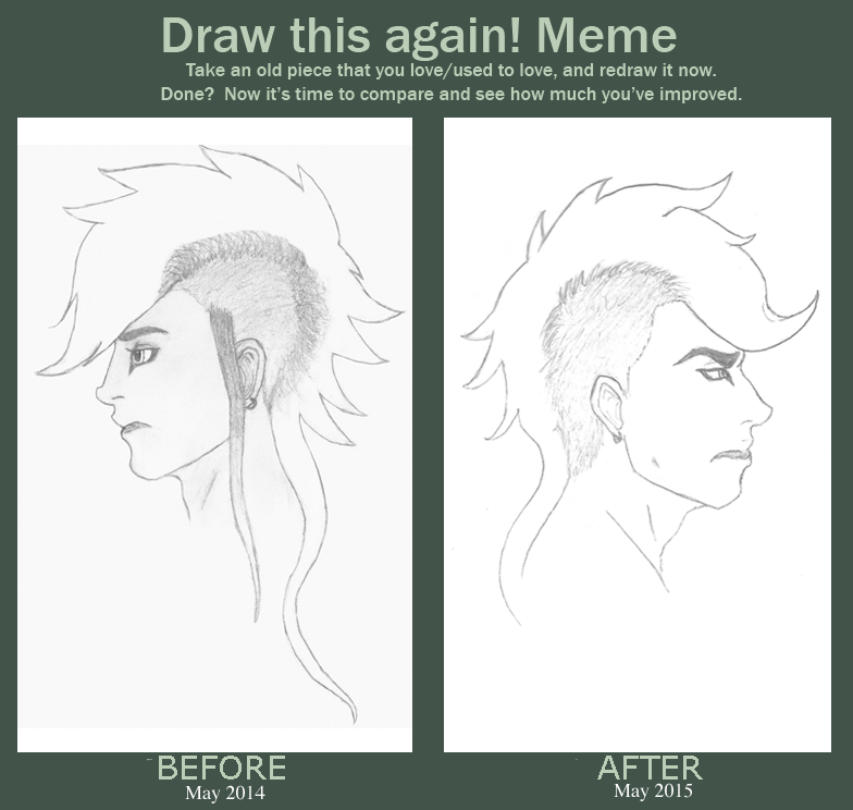 Draw This Again Meme: Buer Redraw by gir-is-me