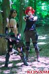 Quiet And Meryl - Metal Gear Solid