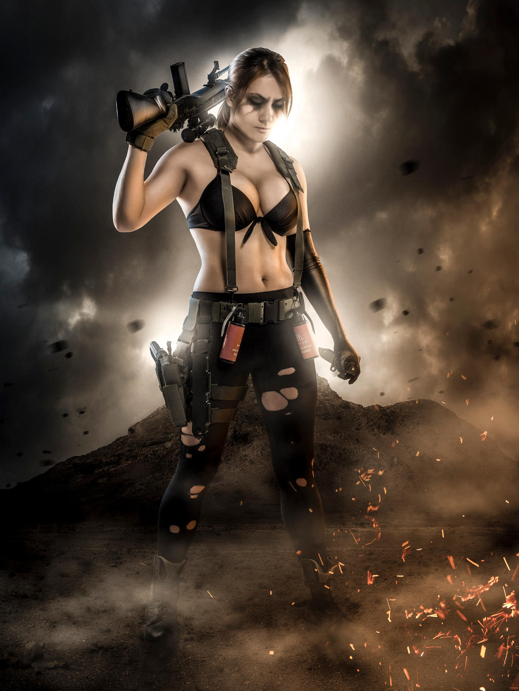 a quiet moment mgsv the phantom pain by ixiserenityixi