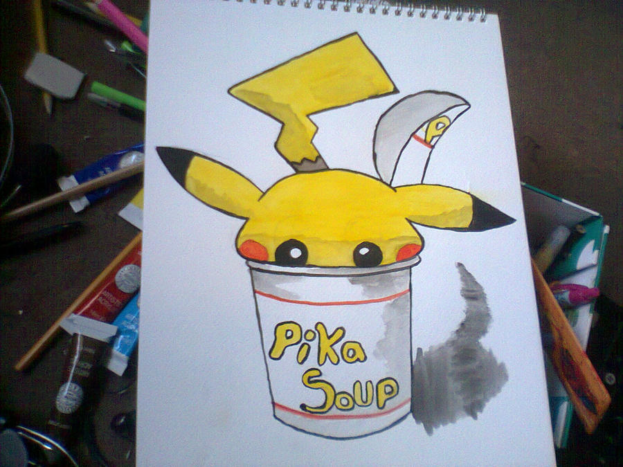 pika soup by 123deaththekid