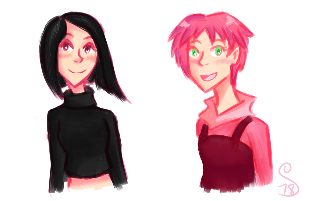 Yumi and Aelita by semie78
