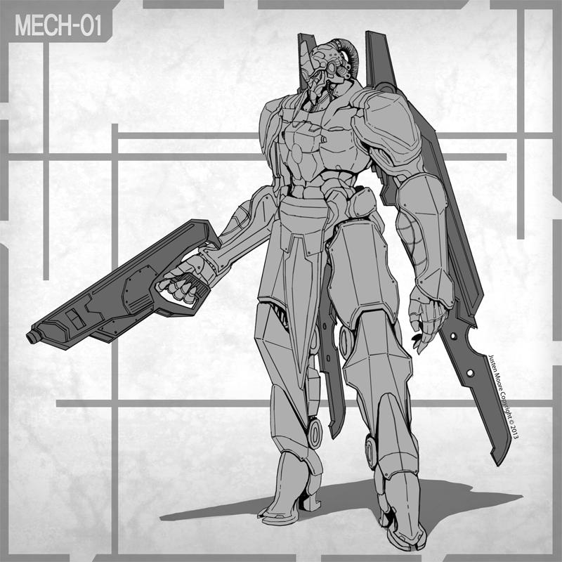 MECH-01 by Luneder