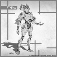 Athena by Luneder