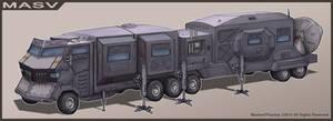 MASV - Mobile Atmospheric Scanner Vehicle by Luneder
