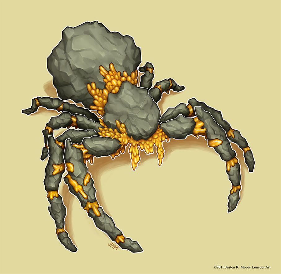 Ooze Spider by Luneder