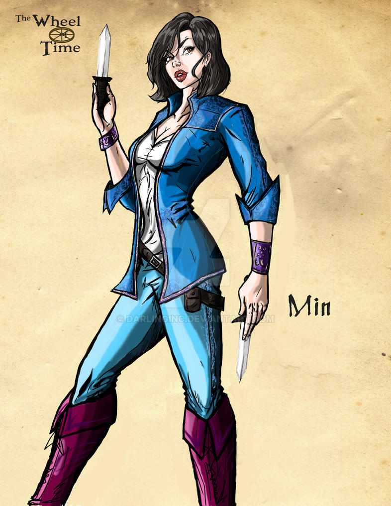 The Wheel of Time: Min by darlinginc