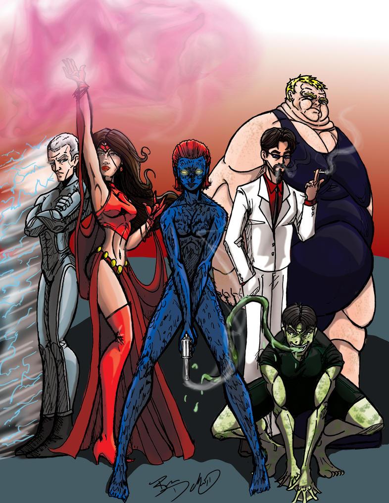 X-Men:  The Brotherhood by darlinginc