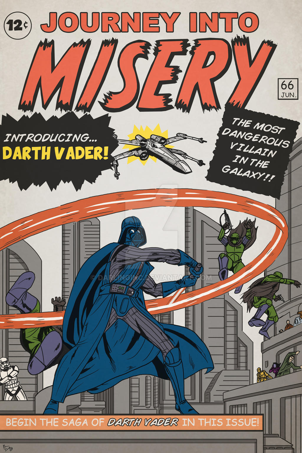 Darth Vader: Journey into Misery by darlinginc