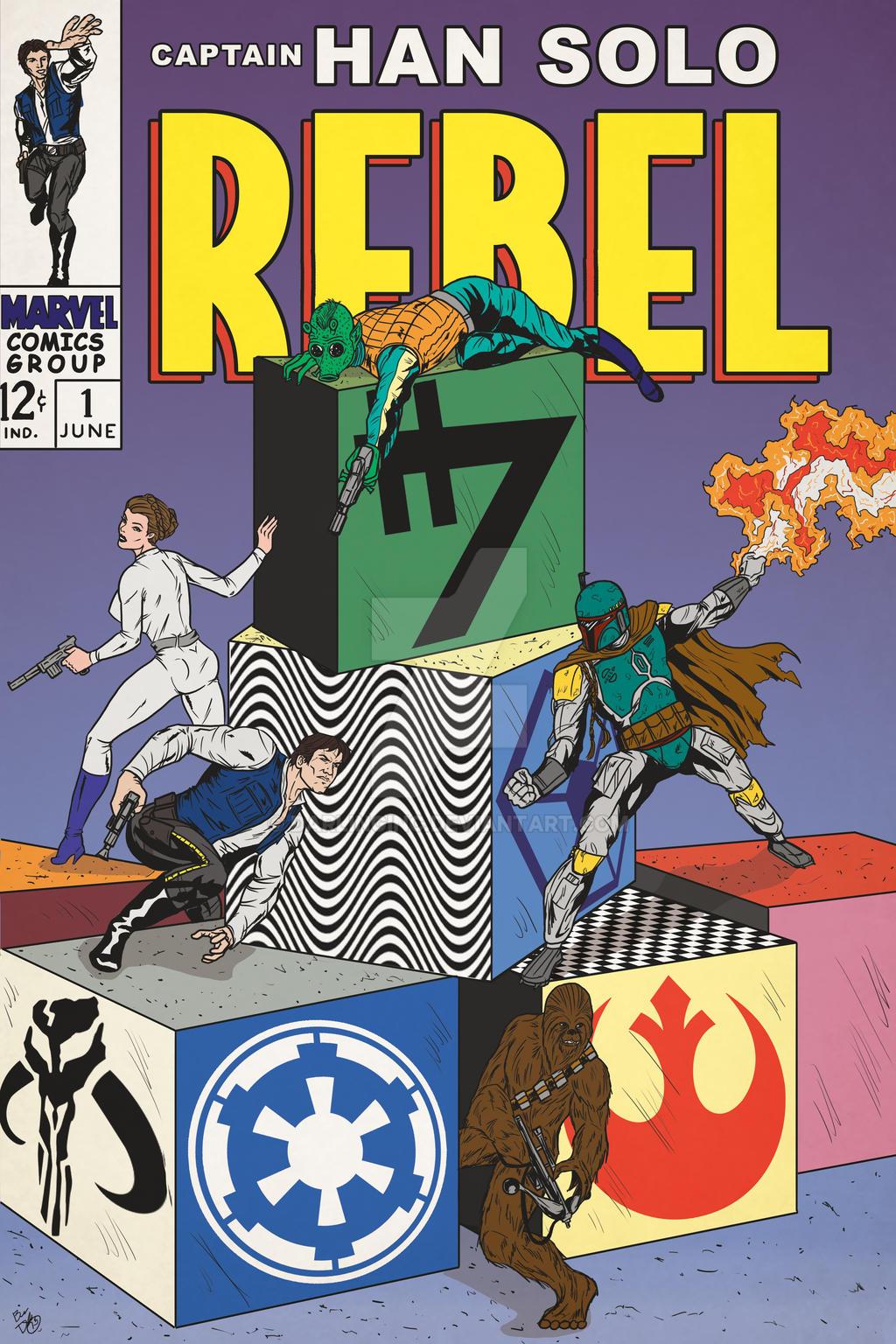 Captain Han Solo: Rebel by darlinginc