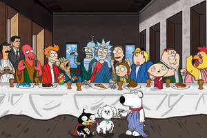 The Last Supper:  Animation Domination