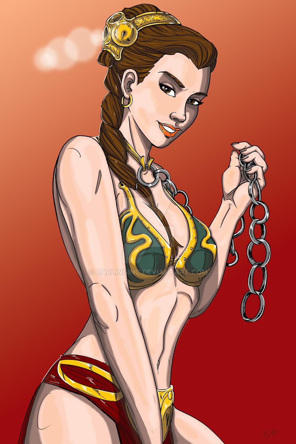 Slave Leia by darlinginc