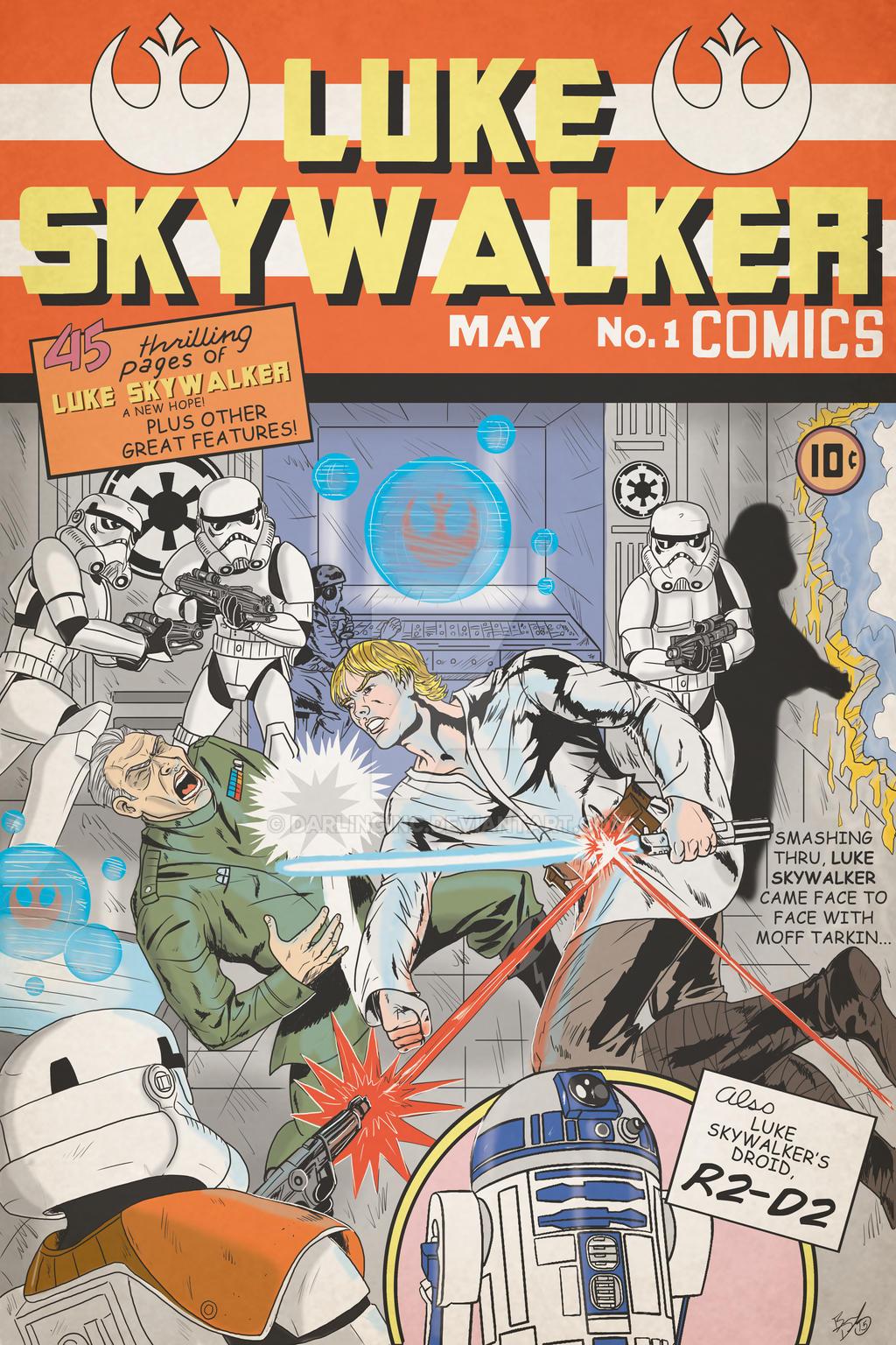 Luke Skywalker (1st appearance parody) by darlinginc