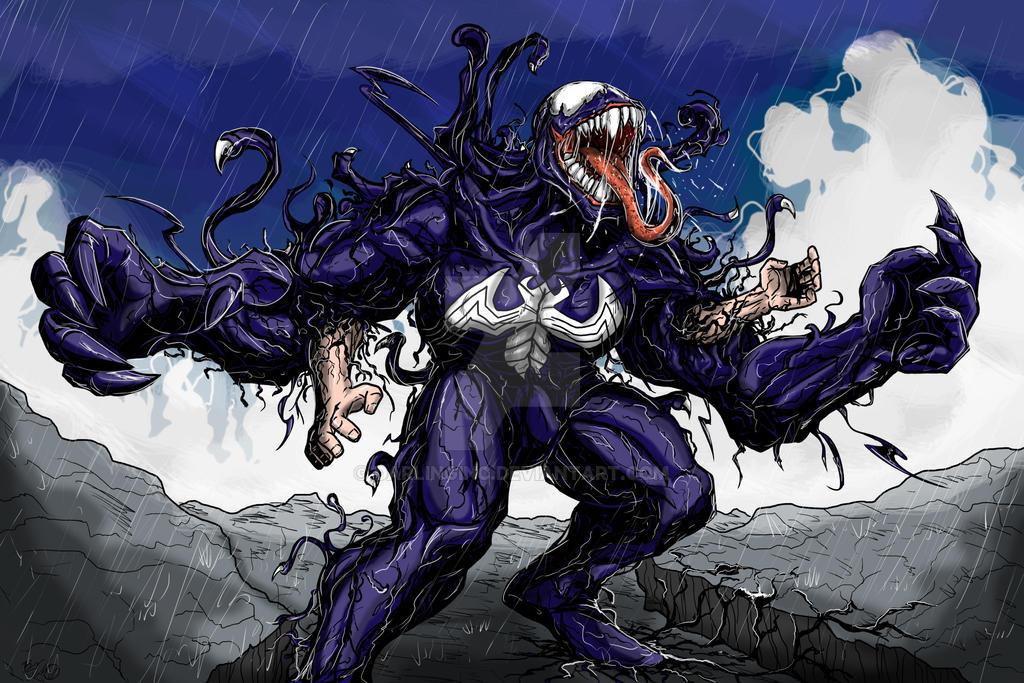 Venom Print by darlinginc