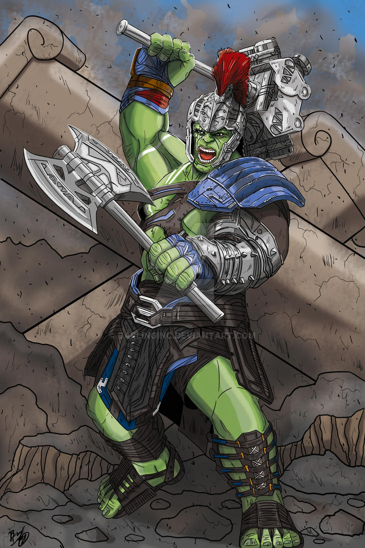 Gladiator Hulk by darlinginc