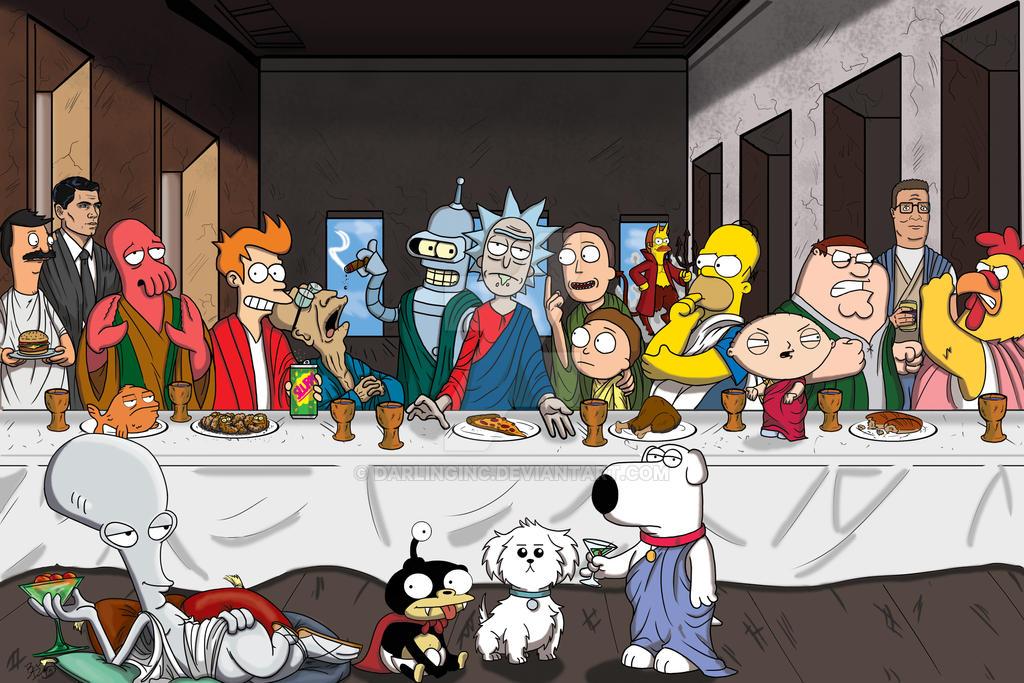 Last Supper Remastered by darlinginc