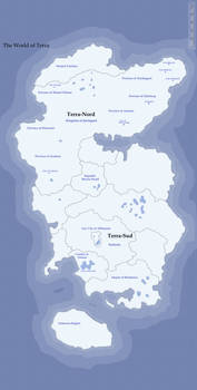 D and D Campaign World Map of Terra
