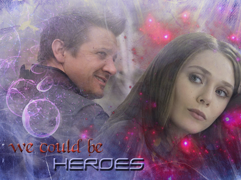 scarlet witch and hawkeye relationship