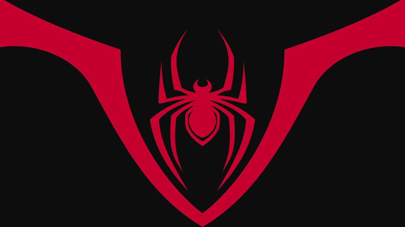 Spiderman back emblem