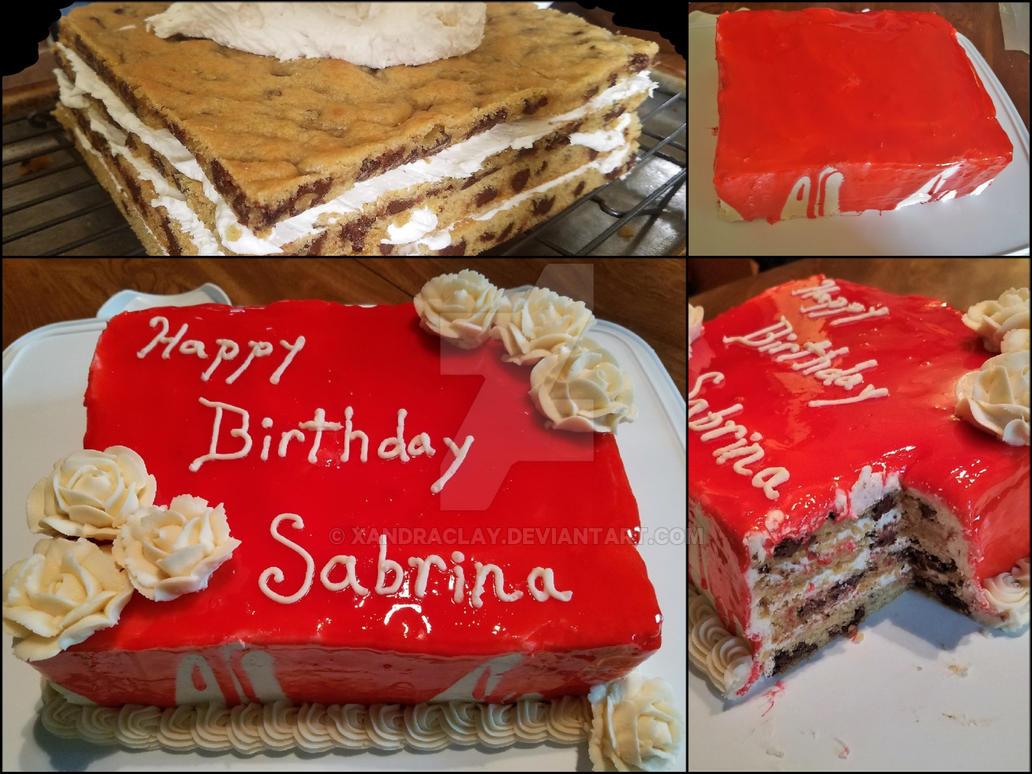 Vampire B Day Cake By Xandraclay On Deviantart
