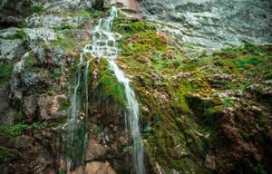 Waterfall in Kaukasus