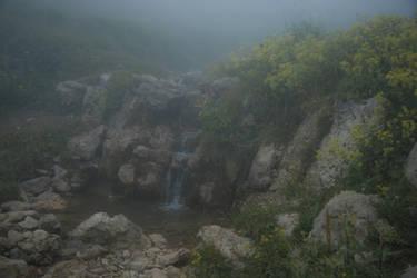 Waterfall of Kaukasus by SashaBels