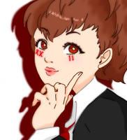 Persona 3 - FeMC (Fool) by Keriro
