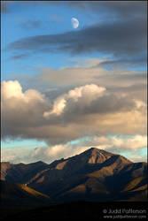 Denali Moonscape by juddpatterson