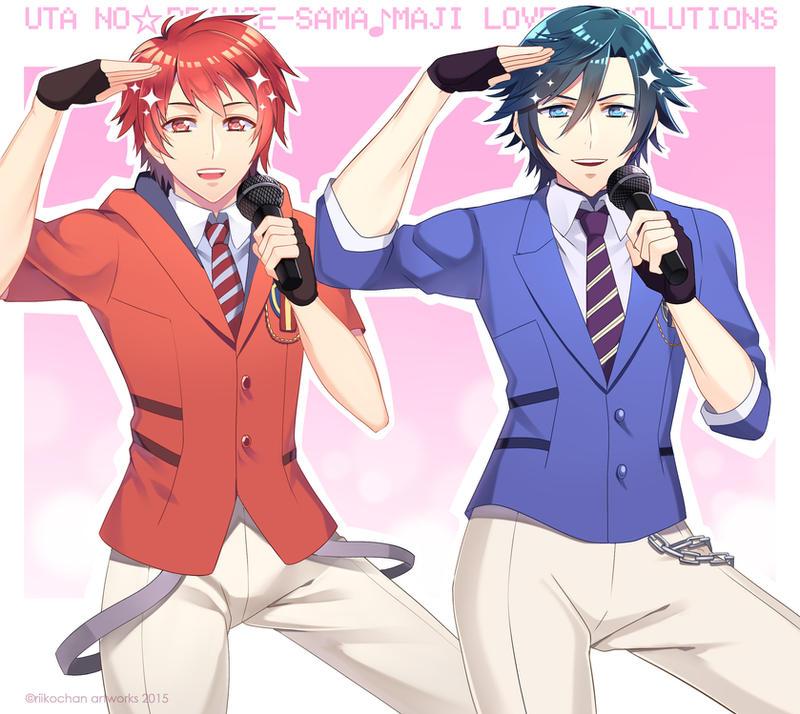 UtaPri Maji Love Revolutions: Ittoki and Tokiya by riiko23
