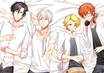 Mystic Messenger Boys