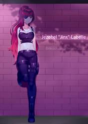COM: Jezebel Labelle by Riikochan-Artworks