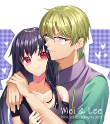 COM: Mei and Lee by Riikochan-Artworks