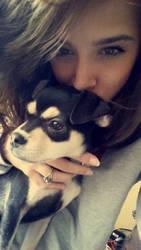 puppy xox by MellySerona