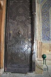 Persian Decorated Iron Door by MirjamPenning