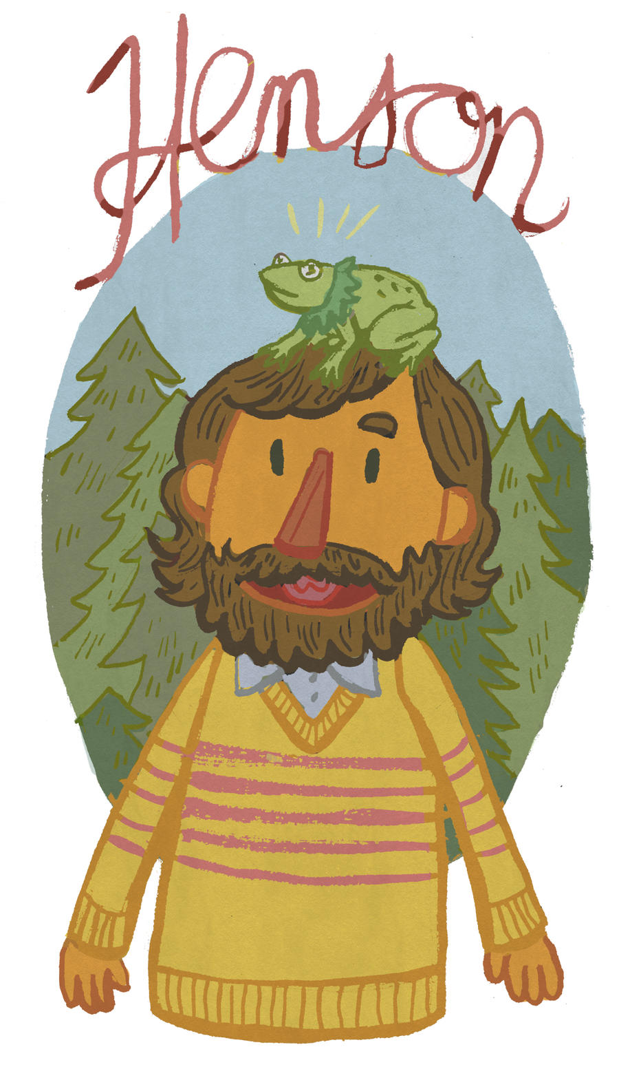 Jim Henson by Cup-Kayke