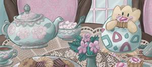 Togepi's Tea by kaykedrawsthings