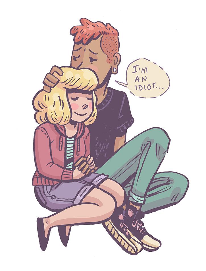Sadie and Lars by Cup-Kayke