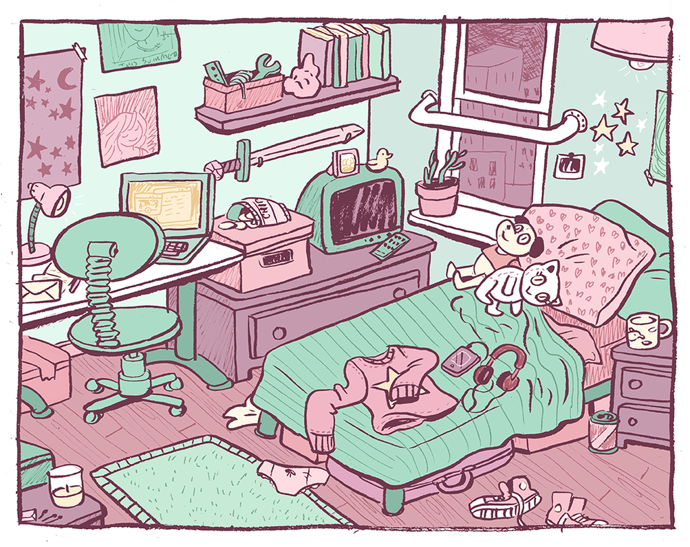 Sweet Honey's Room by Cup-Kayke
