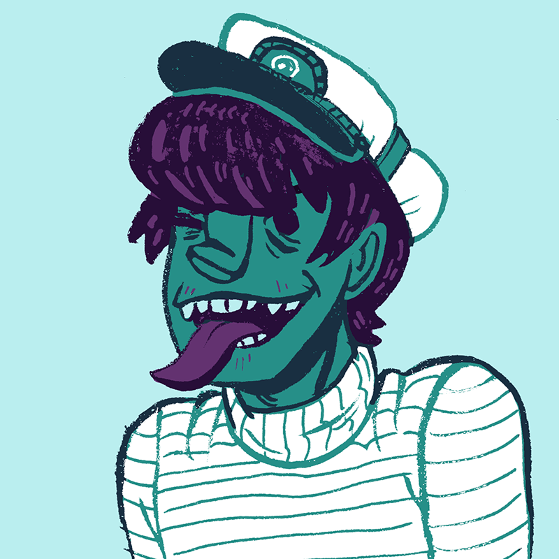 Captain Murdoc by Cup-Kayke