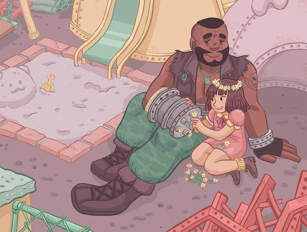 Barret and Marlene by Cup-Kayke
