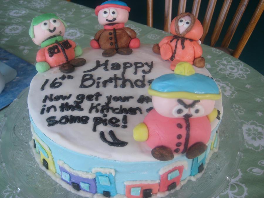 South Park Cake by noisekisses on DeviantArt